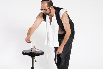 """""""C'est mon tour de faire la femme, ce shabbat"""" rabbin gay, david bauer"""