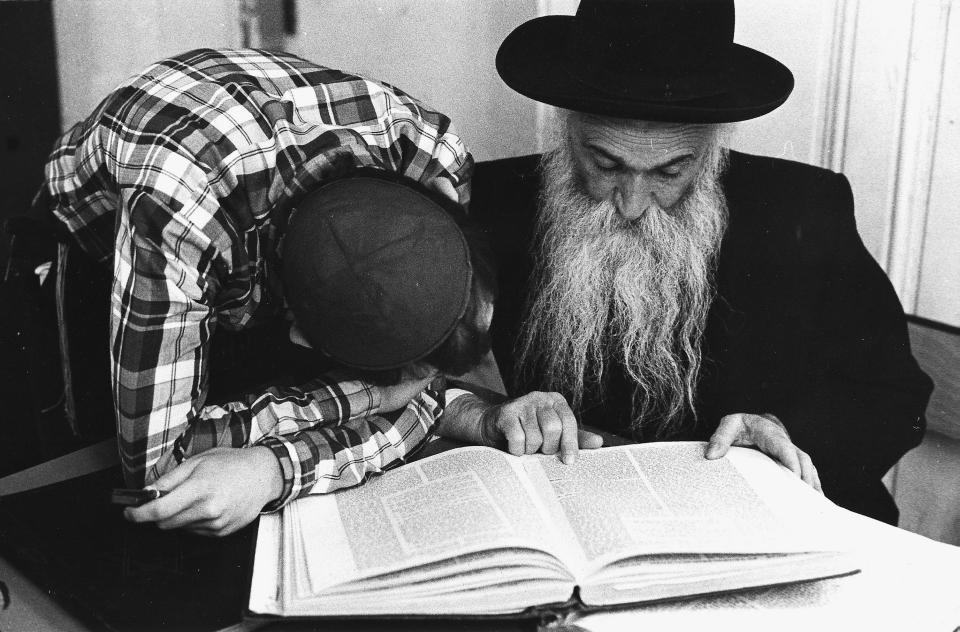 Rav Goldberg zal, yéshiva de Brunoy, 1980
