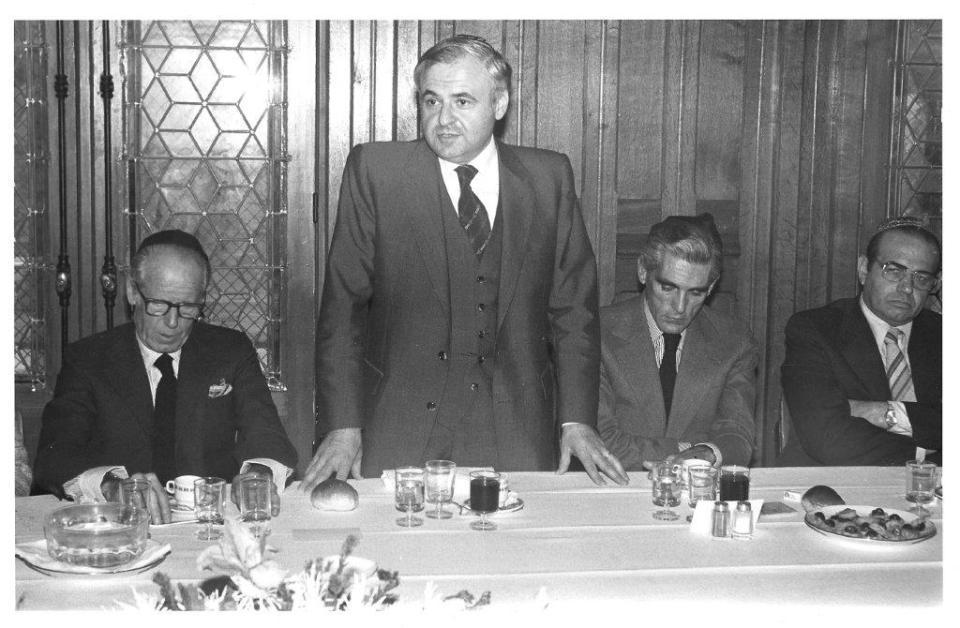 L'ambassadeur d'Israël Meir Rosen, 1979