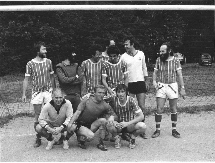 L'internationale métèque, amateurs juifs et arabes qui jouaient le dimanche au bois de Vincennes, 1979